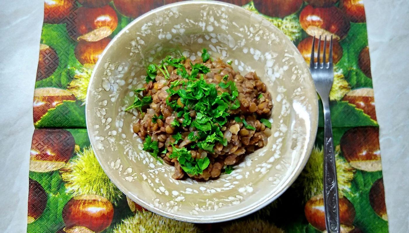 Рецепт приготовления чечевицы