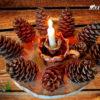 Новогодний-декор-для-дома-своими-руками-«Шишкин-лес»2